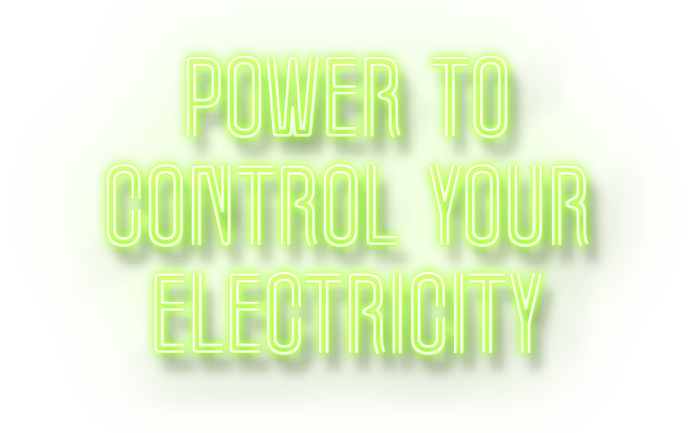 Power to Control Your Electricty